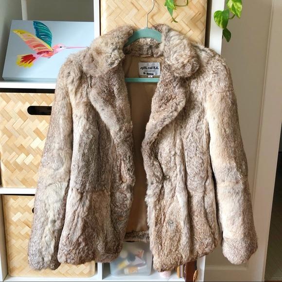 Vintage Jackets & Blazers - 💫 EXCELLENT CONDITION 💫Vintage Rabbit Fur Coat